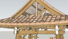 Chinese Architecture / Roofs in traditional Chinese architecture.