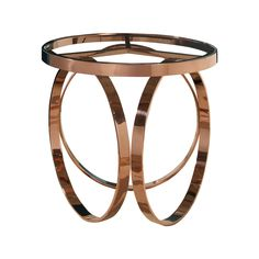 Vera Rose Gold End Table