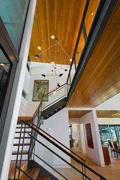 Treppenhaus Kronleuchter Holz Interieur Pendelleuchte