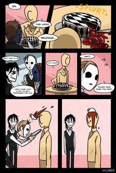 Creepypasta Cafe Special 7/11 by Alloween