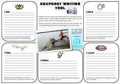 """Create great written visuals with """"The Snapshot WritingTool"""" - Edgalaxy - Cool Stuff For Nerdy Teachers - Edgalaxy: Where Education and Technology Meet."""