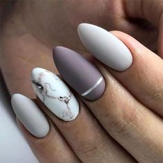 Most Gorgeous Short And Long Almond Matte Nails Ideas For 2019 – Page 14 of 71 – Diaror Diary ♥ 𝕴𝖋 𝖀 𝕷𝖎𝖐𝖊, 𝕱𝖔𝖑𝖑𝖔𝖜 𝖀𝖘!♥ Diaror Diary ♥ Most Gorgeous Short And Long Almond Matte Nails Ideas For 2019 – Page 14 of 71 – Diaror Diary ♥ 𝕴𝖋 𝖀 … Long Almond Nails, Almond Acrylic Nails, Cute Acrylic Nails, Matte Nails, Hair And Nails, My Nails, Cute Nail Art Designs, Stylish Nails, Perfect Nails