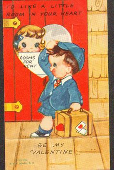 Great old Valentines card.