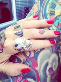 www.bunnyskull.com Class Ring, Behind The Scenes, Tattoos, Jewelry, Art, Art Background, Tatuajes, Jewels, Tattoo