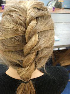 Hair |  Hairstyle Ideas.  The twisted braid
