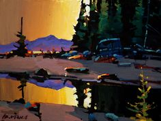 """""""Rivers Inlet Dusk,"""" by Michael O'Toole"""