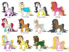 Disney and MLP