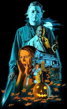 Horror Archives - Page 6 of 33 - Home of the Alternative Movie Poster -AMP- Horror Movie Posters, Movie Poster Art, Arte Horror, Horror Art, Halloween Series, Halloween Poster, Horror Pictures, Horror Pics, Classic Horror Movies