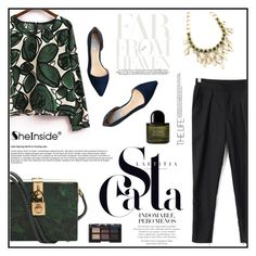 """""""SheIn"""" by aurora-australis ❤ liked on Polyvore featuring Cole Haan, Dolce&Gabbana, NARS Cosmetics, Byredo and Sheinside"""