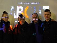 """Erik Strauss con Vincenzo Patanè ed i Morthon alla presentazione di """"What About Alice?"""""""
