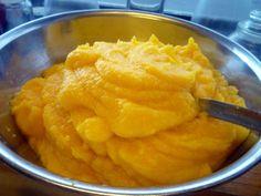 Pumpkin Purée @ http://allrecipes.com.au