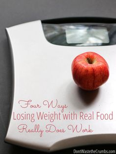 """So insightful! A great articles explaining why losing weight with real food isn't complicated. Finally, now I know why all those typical """"diet"""" foods never worked! :: DontWastetheCrumbs.com"""