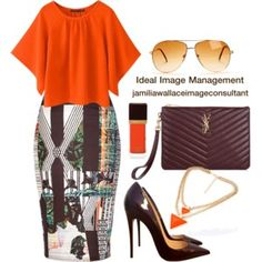 Designer Clothes, Shoes & Bags for Women Classy Outfits, Chic Outfits, Fashion Outfits, Fashion Trends, Fashion Line, Work Fashion, Fashion Design, Formal Chic, Ideal Image