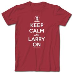3 Three Stooges - Keep Calm Larry - T-Shirt #keepcalm #coupons