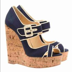 i usually dont like wedge heels...but i love these!