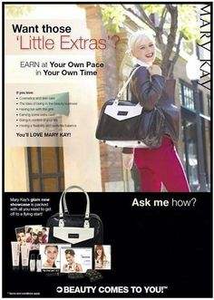 Start something beautiful!!! http://www.marykay.com/lisabarber68 call or text me 386-303-2400