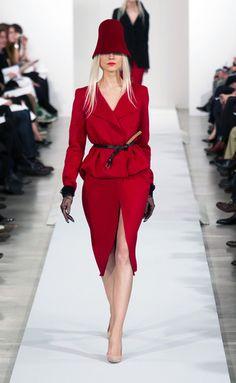 Oscar de la Renta - Nueva York Fashion Week Otoño Invierno 2013-2014
