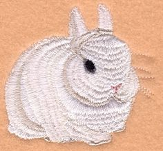 Bunny - 4x4   Easter   Machine Embroidery Designs   SWAKembroidery.com Starbird Stock Designs