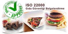 ISO 22000 Gıda Güvenliği Yönetim Sistemi Belgesi