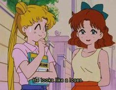 aesthetic, 90s anime aesthetics, old anime, animation, sailor moon
