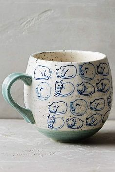 Adorable :: Cat Study Mug