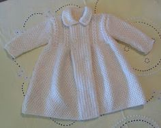 Blog Abuela Encarna Knitting For Kids, Baby Knitting, Crochet Baby, Knit Crochet, Pull, Color Beige, Cold Shoulder Dress, Textiles, Glamour
