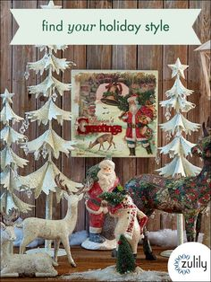 Shop Christmas Decor Up to 70% Off! Huge selection with new items added each and every day! At zulily.com you'll find something special every day of the week!