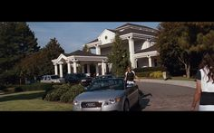 Audi Product Placement in The Joneses (2009) Movie Movie Scene
