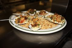Fried  Popcorn Oysters ready to be eaten