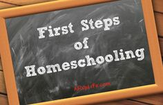 A RUP LIFE: First Steps of Homeschooling