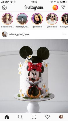 Trendy Ideas For Cupcakes Birthday Theme Minnie Mouse Minnie Mouse Birthday Theme, Mickey And Minnie Cake, Bolo Minnie, Mickey Cakes, Minnie Mouse Cake, Cake Pop Displays, Cake Business, Birthday Cupcakes, Cute Cakes