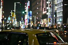 Glittering taxi / Tokyo