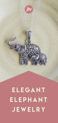 Jump into serious savings when you shop Elephant Jewelry from JTV's incredible jewelry collection. Cute Jewelry, Jewelry Crafts, Beaded Jewelry, Silver Jewelry, Jewelry Accessories, Handmade Jewelry, Jewelry Shop, Elephant Jewelry, Animal Jewelry