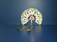 Handmade fan by Joan Croll