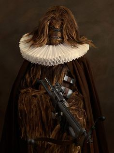 Awesome Cosplay Takes Star Wars, Superheroes Back To The 16th Century
