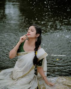 Cute Girl Poses, Cute Girls, Krishna, Saree, Costumes, Bridal, Rose, Youtube, Photography