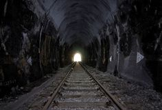 Abandoned and haunted Lerchenberg Tunnel, Heilbronn, Germany