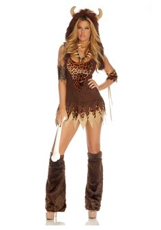 cave girl costume - Google Search