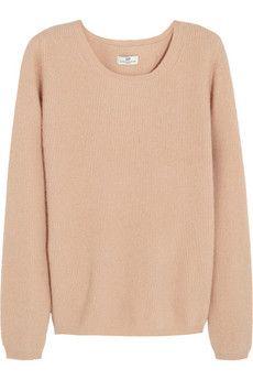 DAY Birger et Mikkelsen Ribbed angora-blend sweater | NET-A-PORTER