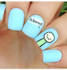 Imagen de nails and blue