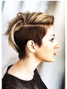 Thinking of growing my top like this. Love it!