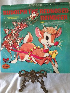 Vintage Rudolph the Red Nosed Reindeer Album SX by FloridaFinders, $6.00