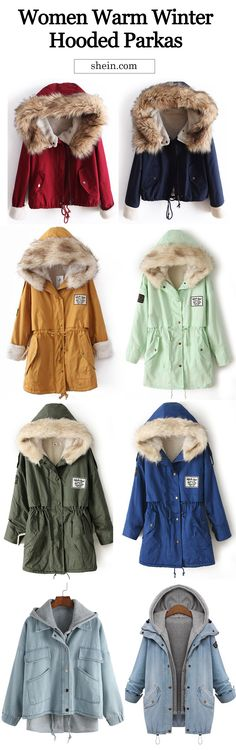 Warm parka collection for women. up to 80% off.