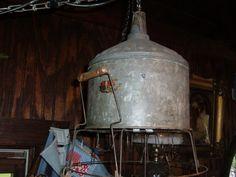 Repurposed Industrial Chandelier Recycled Vintage by Savinghistory, $95.00