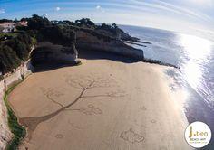 #beach #art #landart #merschers