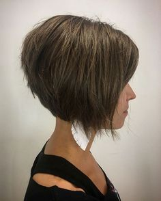 Razored Brown Bob