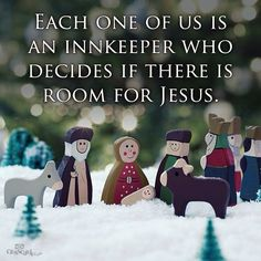 Each One Of Us Is An Innkeeper