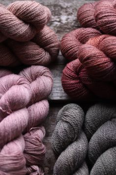 Moel View Yarn Natural Dye Studio Luxury Yarns and British Wools Naturally Dyed yarn. Made in Wales Always aspired to figure out. Crochet Cross, Crochet Yarn, Knitting Yarn, Hand Knitting, Knitting Patterns, Knitting Ideas, Yarn Color Combinations, Yarn For Sale, Yarn Inspiration