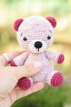amigurumi free teddy bear pattern (7) More