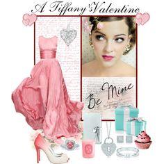 A Tiffany's Valentine, created by #mzdiamondgirl on #polyvore.